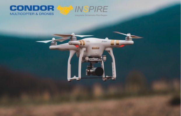 Neuer Partner für das Teilprojekt Drohnen im Projekt INSPIRE