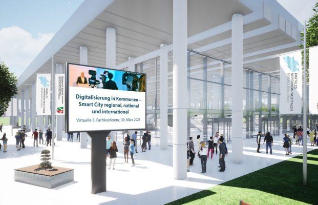 """INSPIRE bei der 3. virtuellen Fachkonferenz """"Digitalisierung in Kommunen – Smart City regional, national und international"""""""