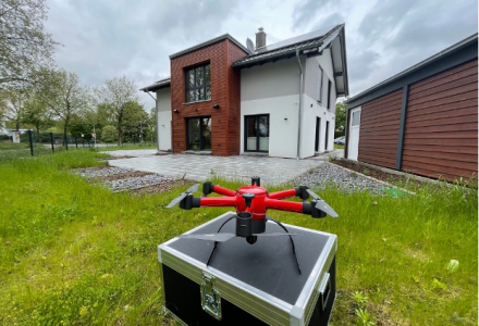 Paderborn Fire Department tests the use of drones with the INSPIRE research project